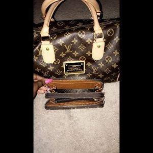 Handbag and wallet bundle